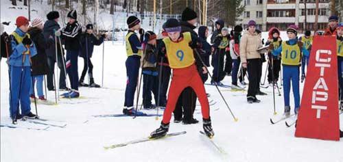 стартует Дмитрий Горлов. II этап Кубка по лыжам
