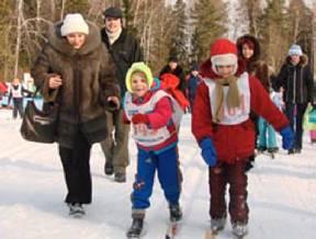 children-ski-дети-катаются-на-лыжах