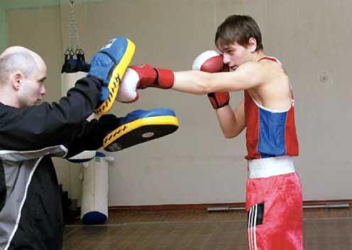 дмитрий грошев юный боксер