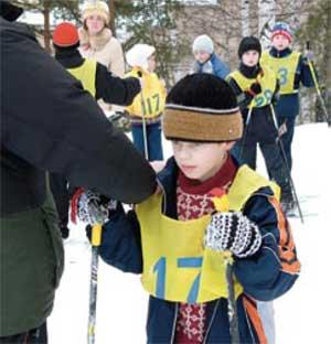 Вошляев Дмитрий юный лыжник