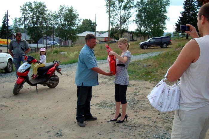 Награждение участниц