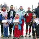 На лыжах за здоровьем и хорошим настроением