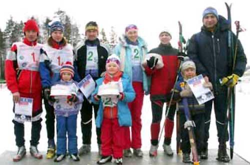 На лыжах за здоровьем