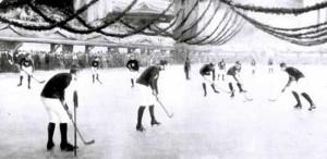 Встреча ведущих канадских команд из Монреаля — «Викториаз» и ААА (1891)