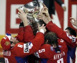 Сборная России — чемпион мира 2008 года - фото